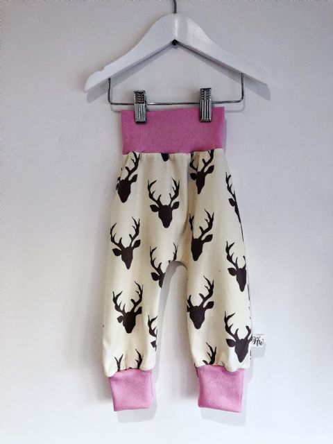 Huxley Pants Cream Stag - In Stock 12-18 months